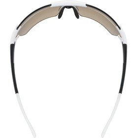 UVEX Sportstyle 803 Race Colorvision Variomatic Glasses white/black matt/litemirror red
